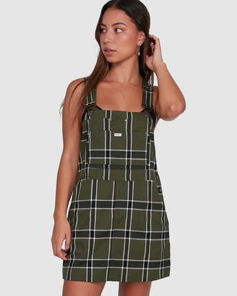 SLOUCHER PLAID PINNY  R207758