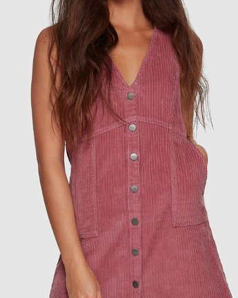 3 Plush Faithless Dress Purple R207760 RVCA