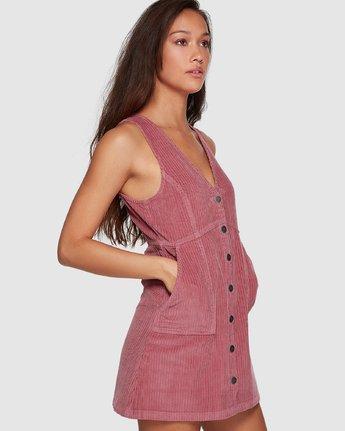 1 Plush Faithless Dress Purple R207760 RVCA
