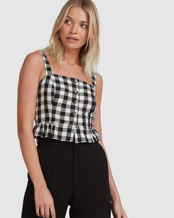 CHECKERS TOP  R215181