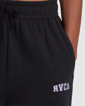 6 RVCA STEEZE SWEAT PANT Black R218272 RVCA