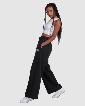 2 RVCA STEEZE SWEAT PANT Black R218272 RVCA