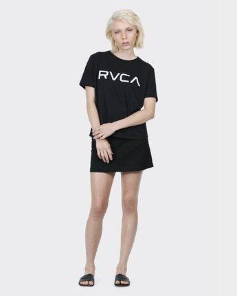 3 Big RVCA Ii T-Shirt Black R271684 RVCA