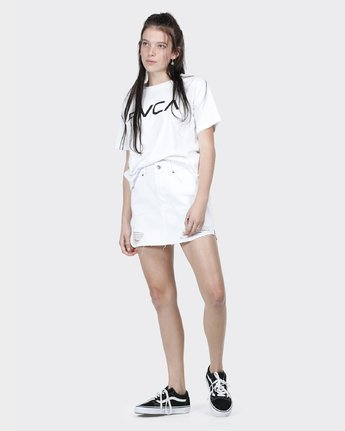 3 Big RVCA Ii T-Shirt White R271684 RVCA