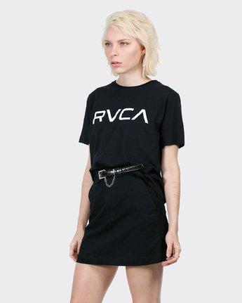 1 Big RVCA Ii T-Shirt Black R271684 RVCA