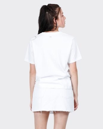 2 Big RVCA Ii T-Shirt White R271684 RVCA