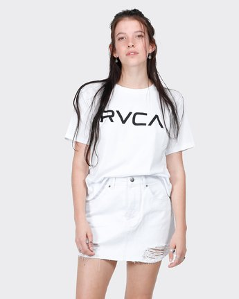 0 Big RVCA Ii T-Shirt White R271684 RVCA