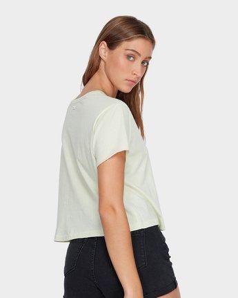 2 Keyline RVCA T-Shirt Green R271685 RVCA
