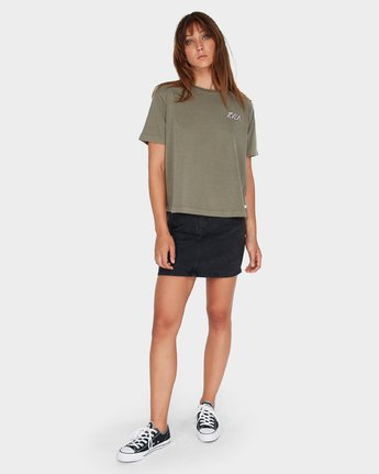 3 Chisel Box T-Shirt  R281693 RVCA