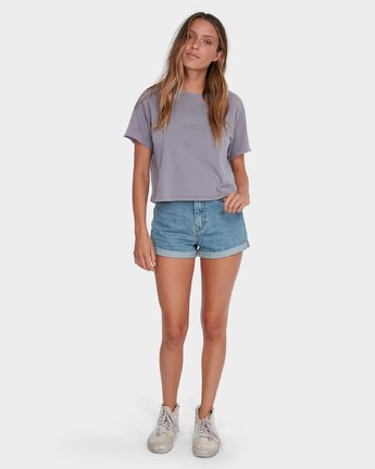 3 Tonally Mini RVCA T-Shirt Grey R281696 RVCA