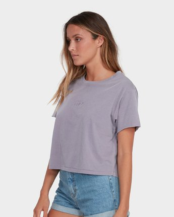 1 Tonally Mini RVCA T-Shirt Grey R281696 RVCA
