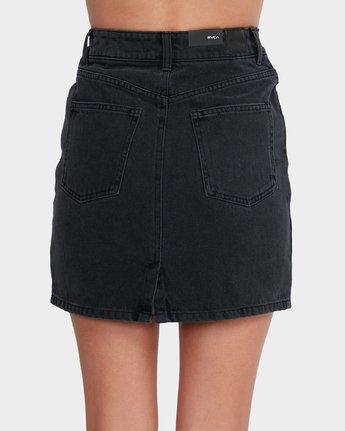 4 Jolt Skirt Black R281835 RVCA