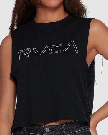 4 Keyline RVCA Muscle Black R282004 RVCA
