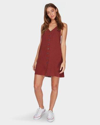 3 Holt Dress Brown R282758 RVCA