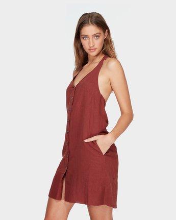 1 Holt Dress Brown R282758 RVCA