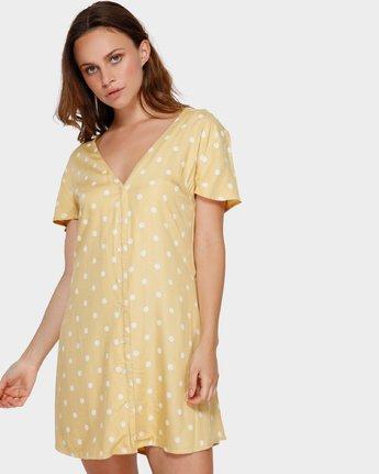 1 Benji Dress Beige R282774 RVCA