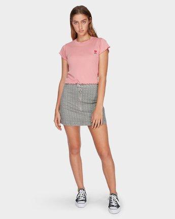 4 Bizness Mini Skirt Black R282831 RVCA