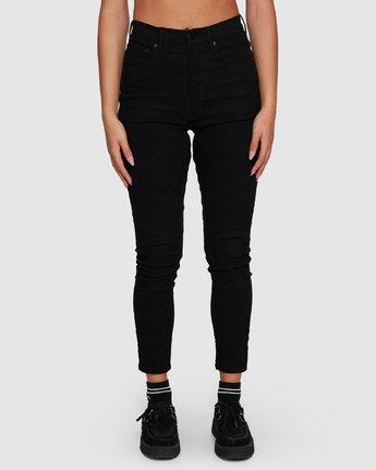 4 Solar Pants - Black Black  R283229 RVCA