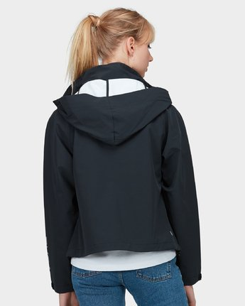 2 Va Windbreaker Jacket Black R283431 RVCA