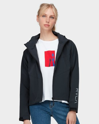 0 Va Windbreaker Jacket Black R283431 RVCA