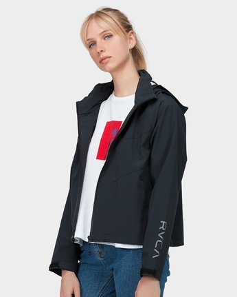 1 Va Windbreaker Jacket Black R283431 RVCA