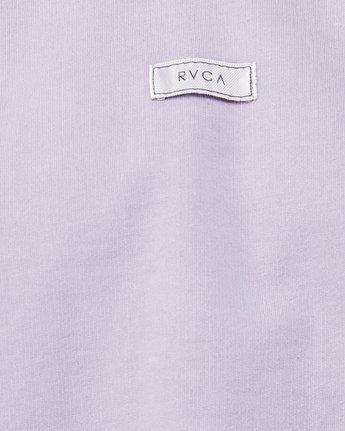 5 Tonally RVCA Patch Crew Purple R291165 RVCA