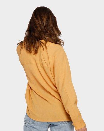 3 Air Weave Shirt Orange R291183 RVCA