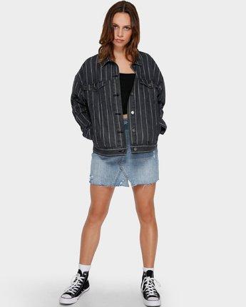 4 Night Visions Jacket Black R291431 RVCA