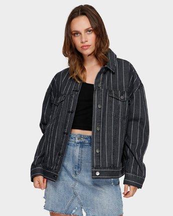 1 Night Visions Jacket Black R291431 RVCA