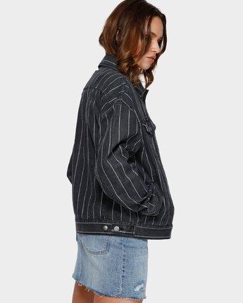 2 Night Visions Jacket Black R291431 RVCA