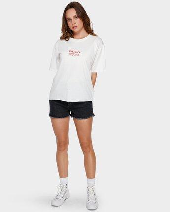 4 Shibusa T-Shirt White R291686 RVCA