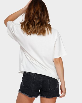 3 Shibusa T-Shirt White R291686 RVCA