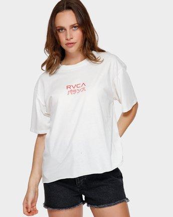 1 Shibusa T-Shirt White R291686 RVCA