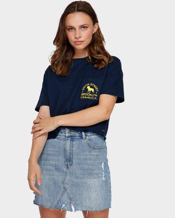 0 Smith Street Pocket T-Shirt Blue R291692 RVCA