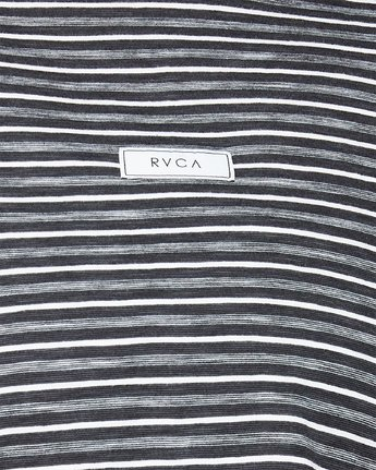 4 Focus On Foz Short Sleeve T-Shirt Black R291693 RVCA