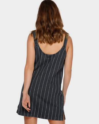 3 Night Visions Shift Dress Black R291752 RVCA