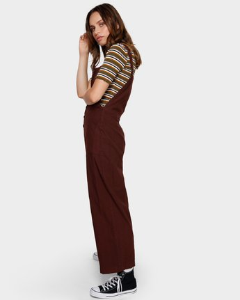 2 SHOUTOUT OVERALL Brown R291757 RVCA