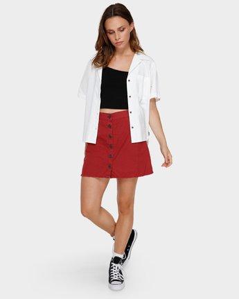 1 Shoutout Mini Skirt Brown R291833 RVCA