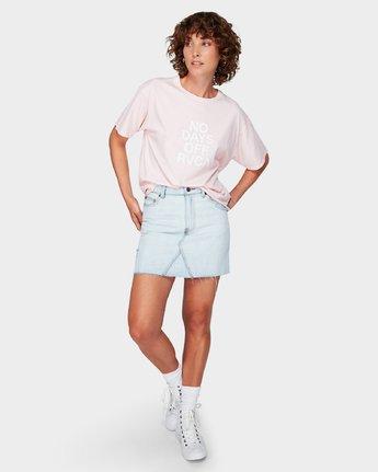 4 No Days Off T-Shirt Pink R292681 RVCA