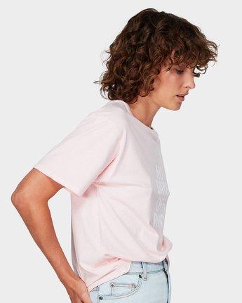1 No Days Off T-Shirt Pink R292681 RVCA