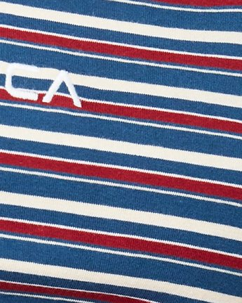 3 Holiday Stripes Tank Blue R292705 RVCA