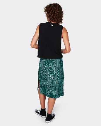 2 Farren Skirt Green R292831 RVCA