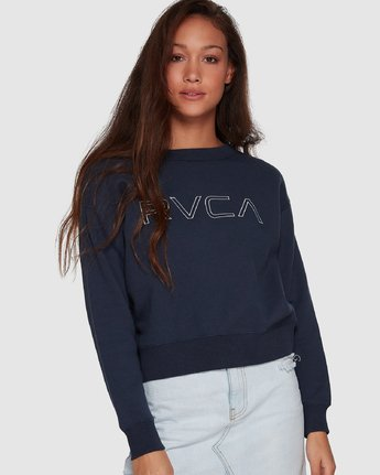 RVCA KEYLINE CREW  R293155