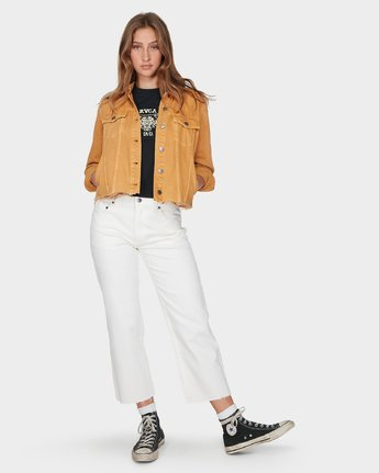 3 Pause It Jacket Yellow R293432 RVCA