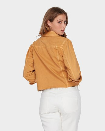 2 Pause It Jacket Yellow R293432 RVCA