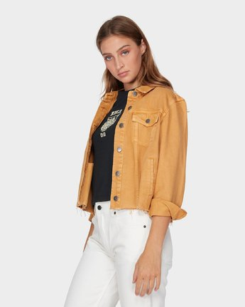 1 Pause It Jacket Yellow R293432 RVCA