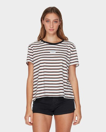 PATCH STRIPE TEE  R293692