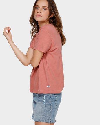 2 Switch T-Shirt Brown R293695 RVCA