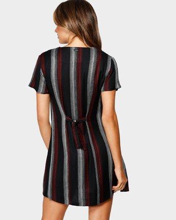 3 Ray Dress Black R293763 RVCA