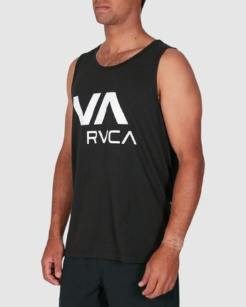 2 Va Rvca Tank Top Black R305007 RVCA